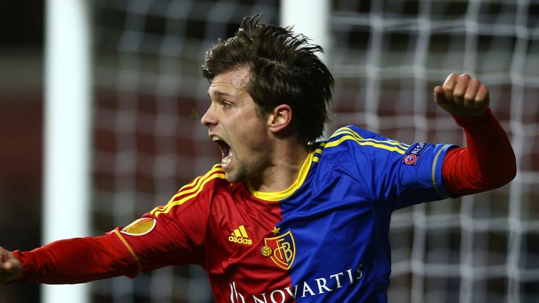 Valentin Stocker: On the scoresheet for Basel