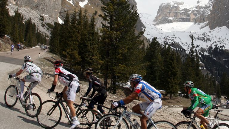 The Giro del Trentino is traditionally a stern test of climbing legs