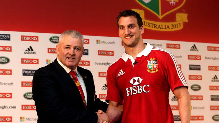 Sam Warburton: Handed the British and Irish Lions captaincy by Warren Gatland