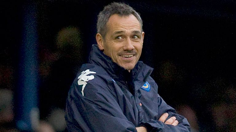 Guy Whittingham: Remains in charge of Portsmouth