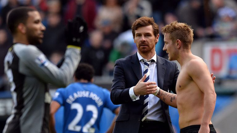 Andre Villas-Boas: Praised both teams' spirit after Tottenham drew 2-2 at Wigan