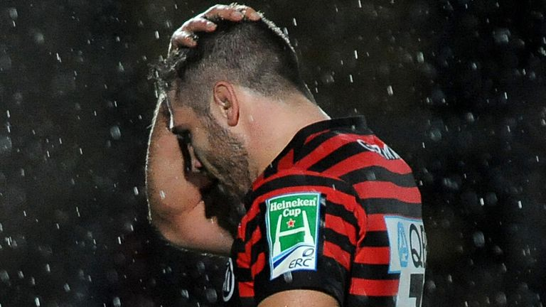 Will Fraser: Suffered a shoulder injury during Saracens' defeat at Gloucester