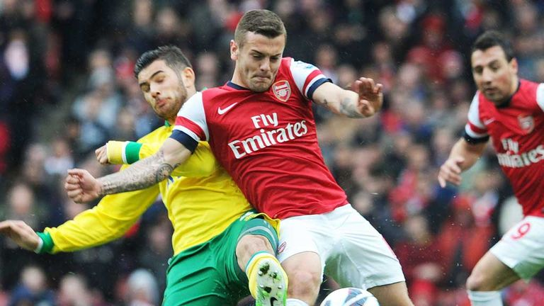 Jack Wilshere: Back in action and determined to end the season on a high
