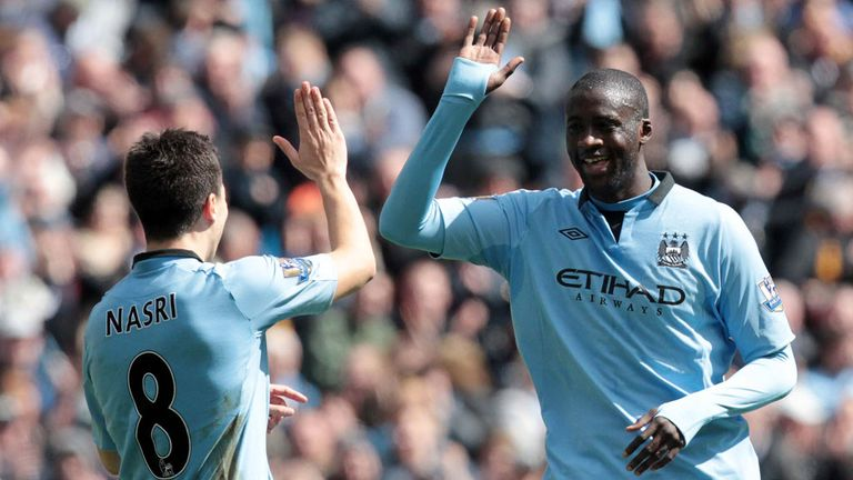 Yaya Toure: Hopes the balance of power swings back to Manchester City