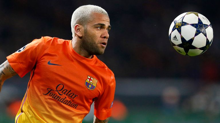 Dani Alves: Dedicated La Liga title to duo