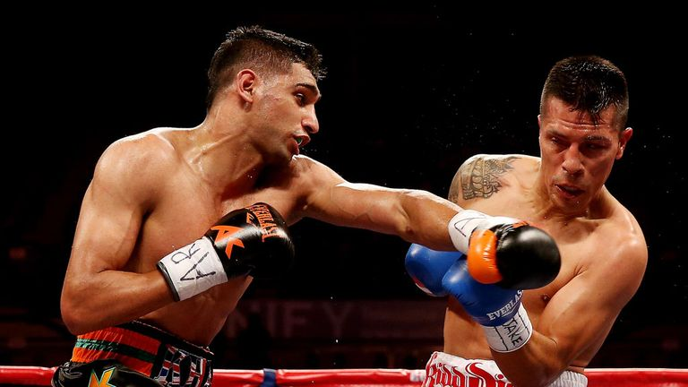 Amir Khan: Hoping to continue his progress after career slump
