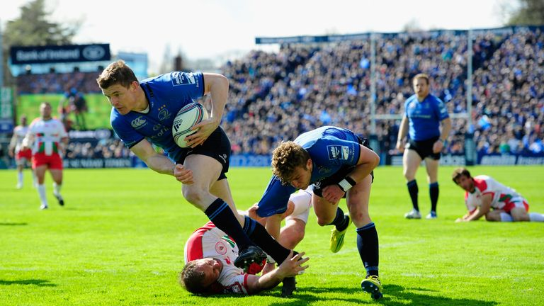 Brian O'Driscoll exemplifies Leinster's attacking approach