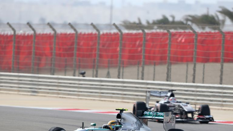 Mercedes: Challenge wilted in the soaring heat