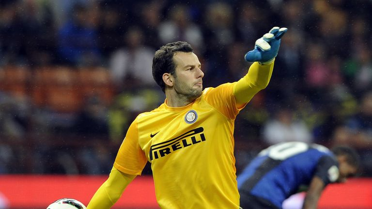 Samir Handanovic: Goalkeeper has been linked to Barcelona