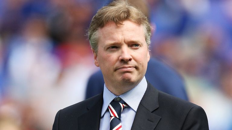 Craig Whyte: Claims he was working with Charles Green on the purchase of Rangers