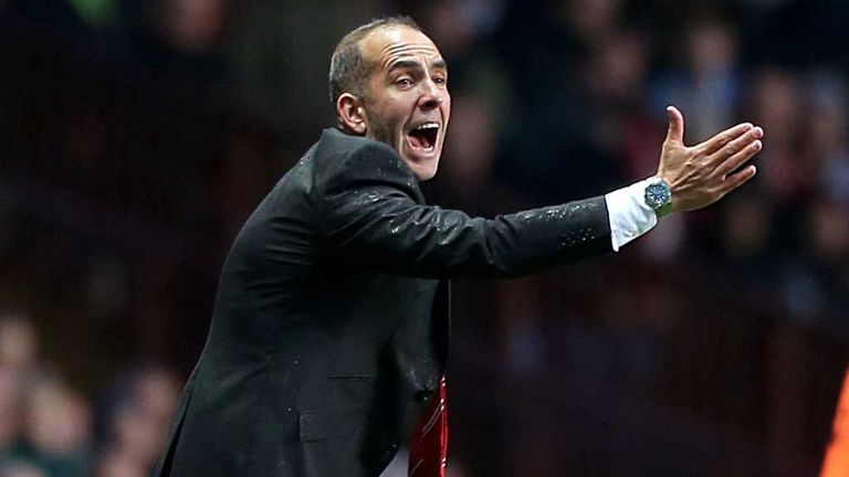 Paolo Di Canio: Says Sunderland had a full stomach at Aston Villa