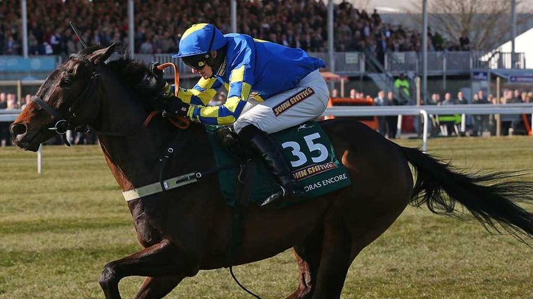 Auroras Encore: has been raised 11lbs by the handicapper after his Aintree triumph