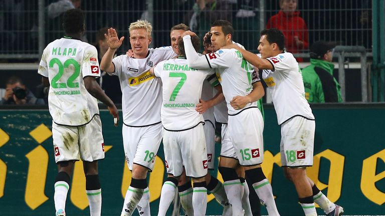 Borussia Moenchengladbach: Celebrate their win