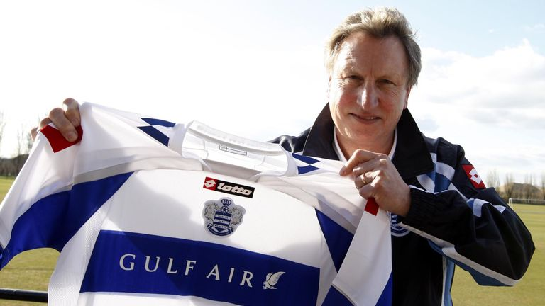 Neil Warnock led QPR to promotion during his first spell with the club