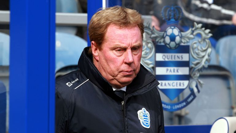 Harry Redknapp: Problems in the Rangers dressing room