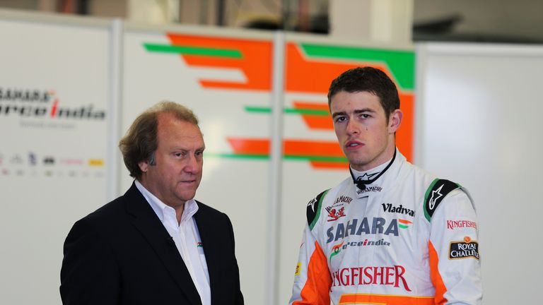 Bob Fernley: Says Paul Di Resta can leave the team if he wants