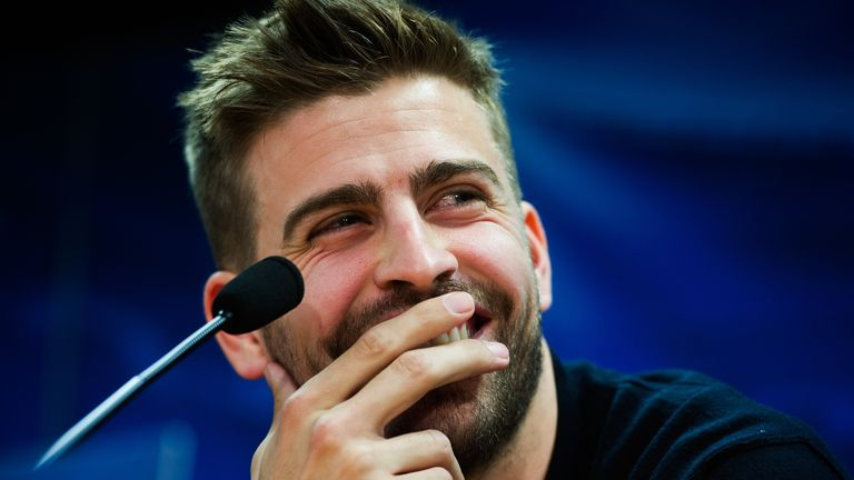 Gerard Pique: Barcelona defender proud of his time at Manchester United