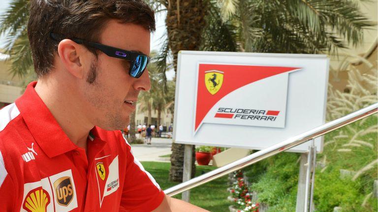 Fernando Alonso: Feeling optimistic over Ferrari's chances