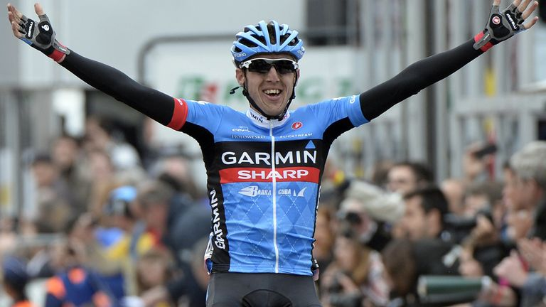 Dan Martin claimed only the third Irish win at Liege-Bastogne-Liege