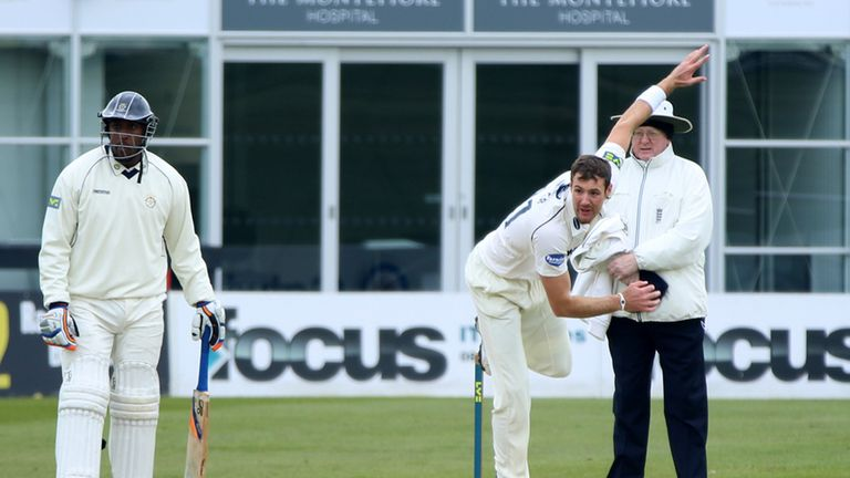 Andrew Miller: Released by Warwickshire last year