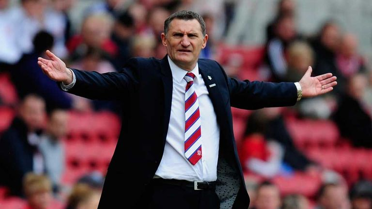 Tony Mowbray: Middlesbrough boss starts against Leicester