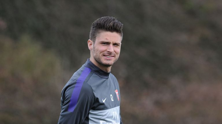 Olivier Giroud: Eyeing improvement in the Champions League