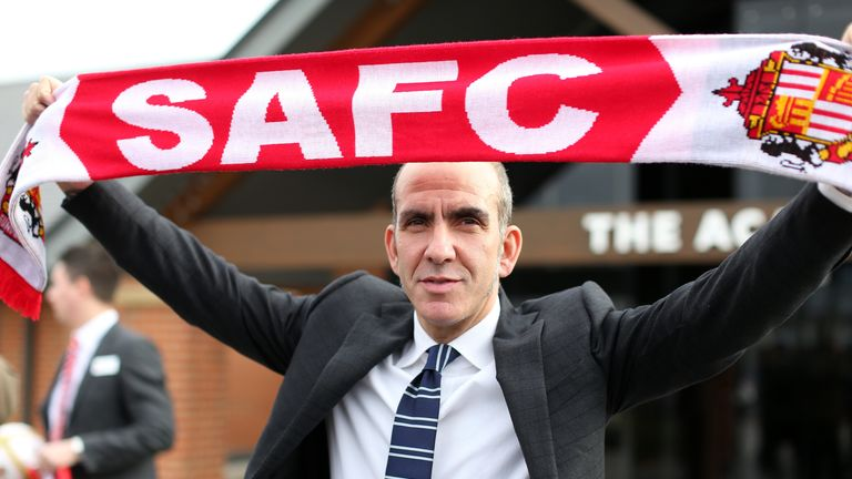 Paolo Di Canio: 'I have fire in my belly'