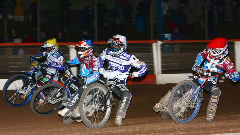 Hans Andersen: Great form for Swindon Robins (PIC CREDIT Les Aubrey)