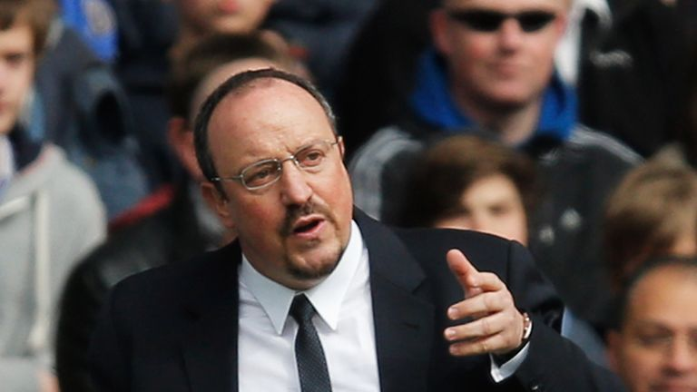Rafael Benitez: Interim manager preparing for Chelsea exit