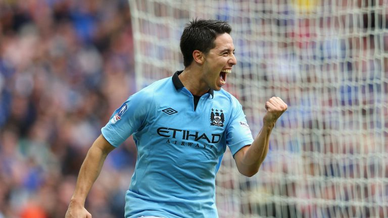 Samir Nasri: Manchester City midfielder has vowed to stay at the Etihad