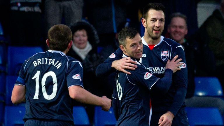 Ivan Sproule: Fouled in incident which saw Barry Douglas sent off