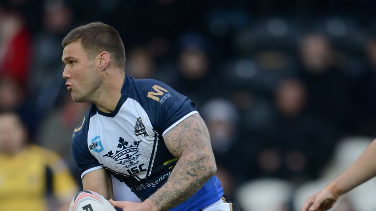 Kirk Yeaman: hat-trick of tries for Hull