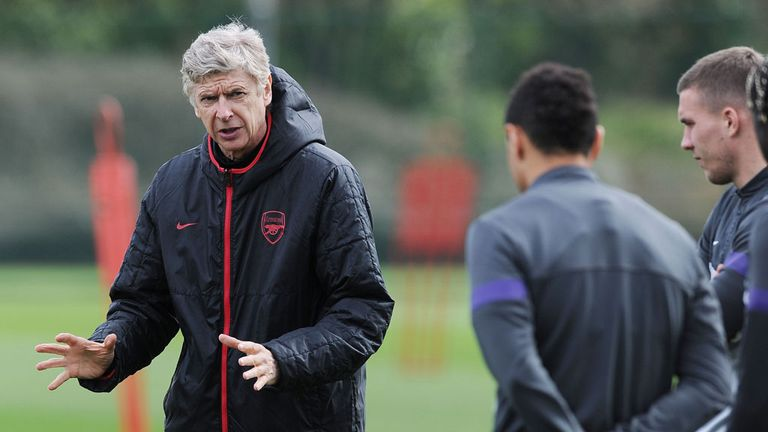 Wenger: Will have his team fired up on Sunday, says Jamie