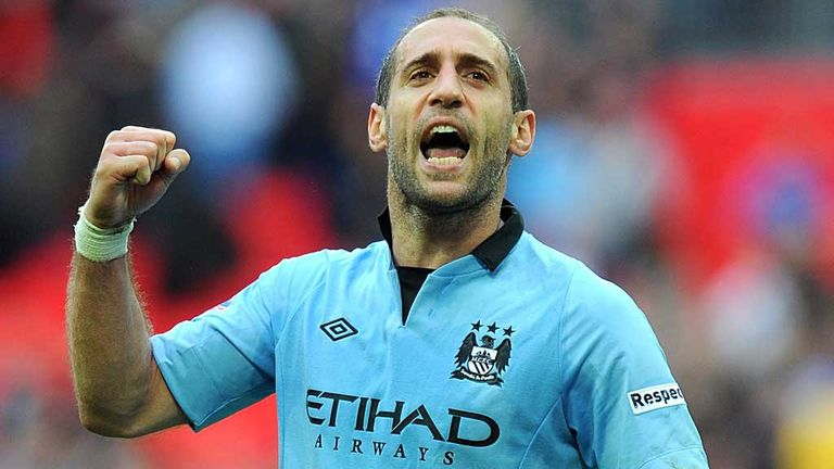 Pablo Zabaleta: Likes the positive approach Manuel Pellegrini instils in his teams