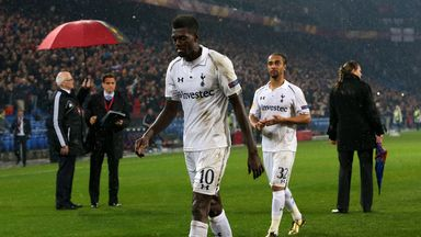 Emmanuel Adebayor: Missed a crucial spot-kick against Basel