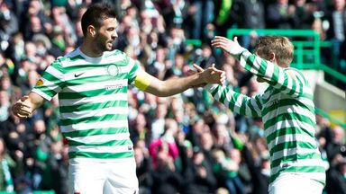 Joe Ledley and Kris Commons: Will be rested for the visit to Motherwell