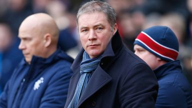Ally McCoist: Is without a number of defenders for Saturday's clash with Berwick