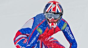 Jamie Barrow sets British speed snowboarding record