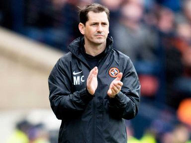 Jackie McNamara: Delighted with Dundee's home form