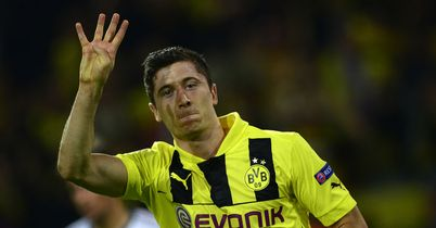 Robert Lewandowski: Became just the eighth player to score four goals in a Champions League match