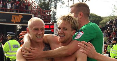 Doncaster: Coppinger and co celebrate