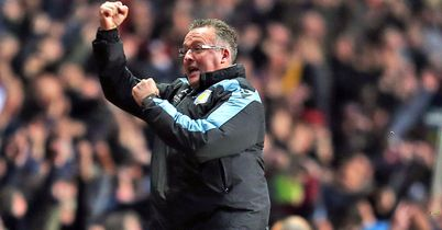 Paul Lambert: Has guided Aston Villa away from relegation trouble