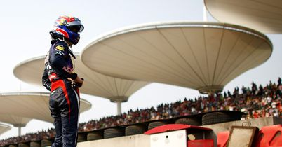 Bahrain grid drop for Webber