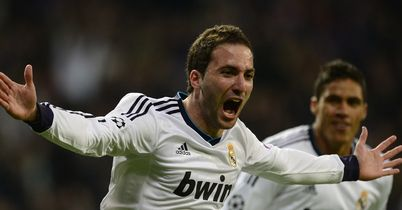 Gonzalo Higuain: Would send a message of intent from Arsenal