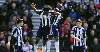 West Brom: Celebrate at Southampton