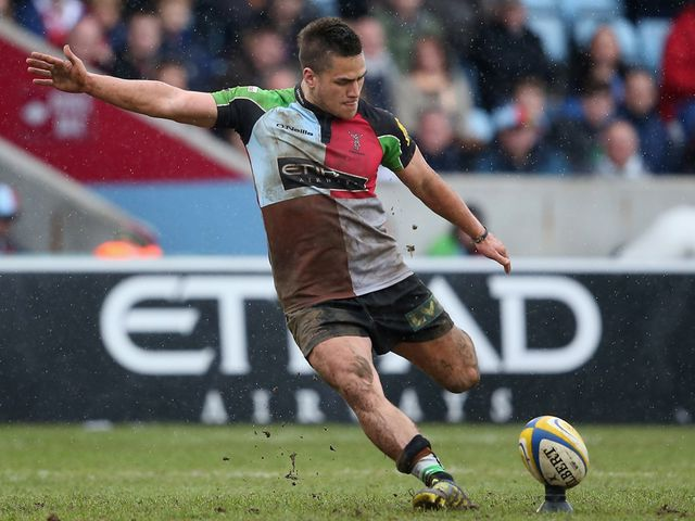 Ben Botica: Kicked 13 points for Quins