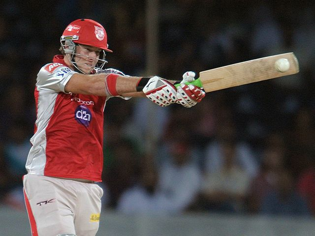 David Miller: Guided the Kings XI home