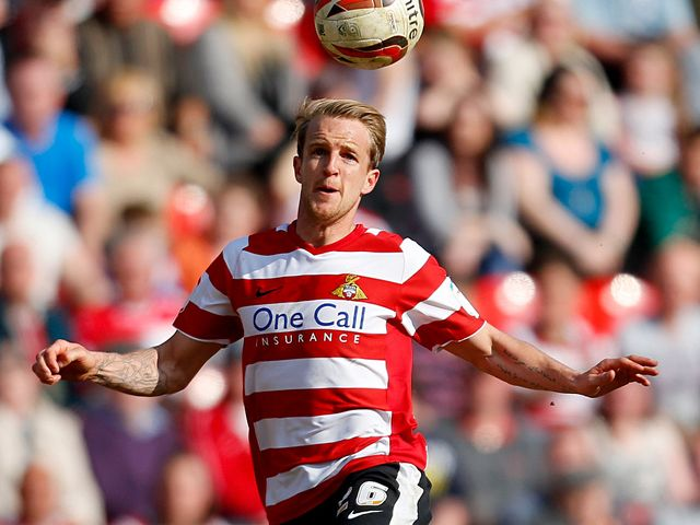 James Coppinger: At the double for Donny