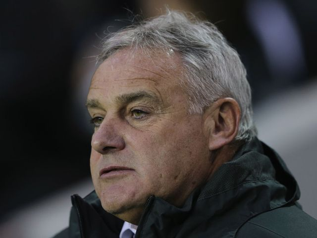 Dave Jones: Disappointed with a draw