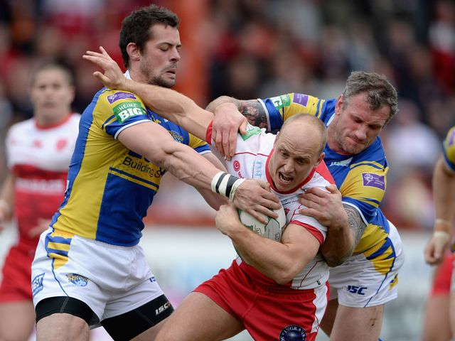 Michael Dobson finds his progress halted.